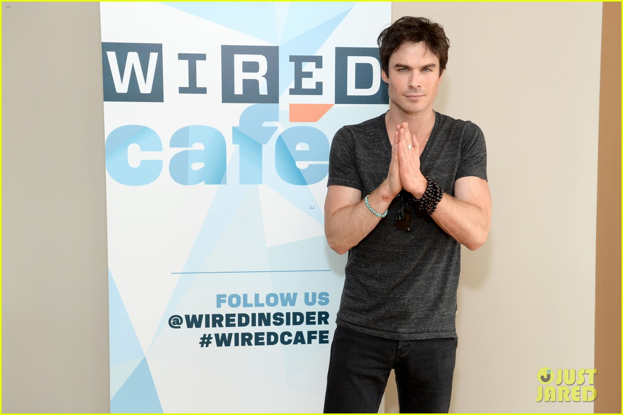 ian somerhalder comic con wired cafe with candice accola 022913261