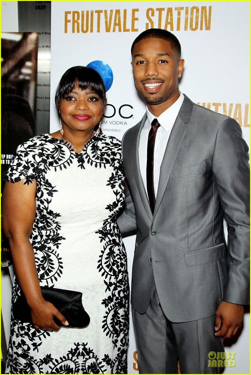 octavia spencer michael b jordan hold hands at fruitvale station nyc station 022906177
