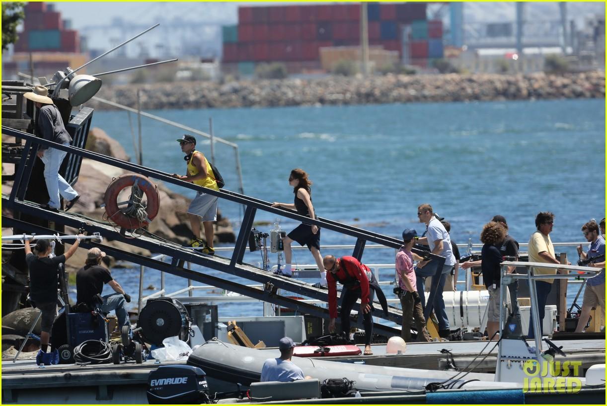 kristen stewart begins filming x ray camp 222910998
