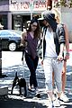 kristen stewart bra revealing walk with new puppy 05