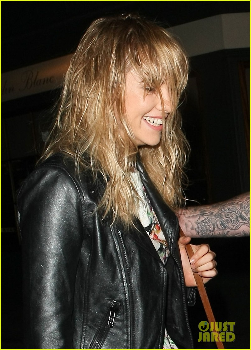 suki waterhouse attends mick jagger birthday party 032909234