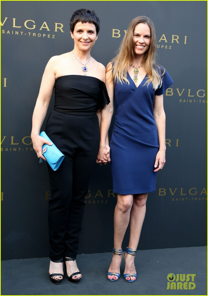 hilary swank bulgari boutique opening in saint tropez 01