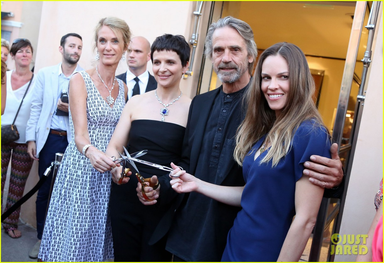 hilary swank bulgari boutique opening in saint tropez 032910907