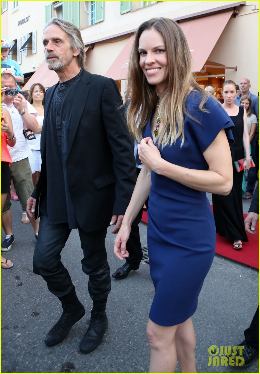 hilary swank bulgari boutique opening in saint tropez 102910914