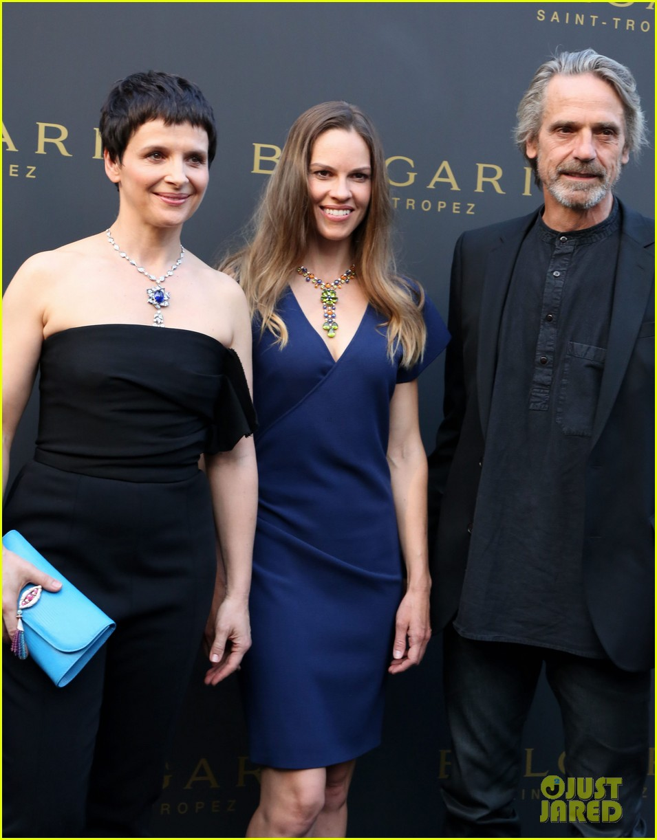 hilary swank bulgari boutique opening in saint tropez 142910918