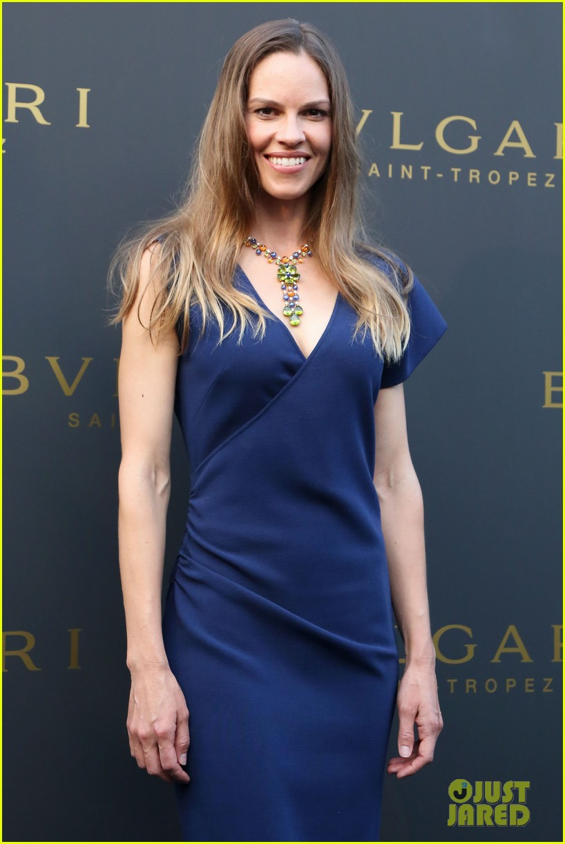 hilary swank bulgari boutique opening in saint tropez 192910923