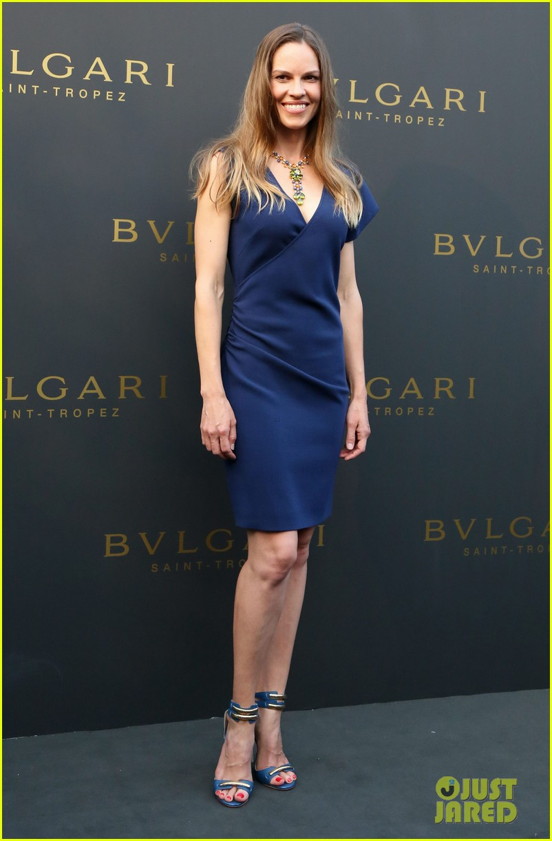 hilary swank bulgari boutique opening in saint tropez 202910924
