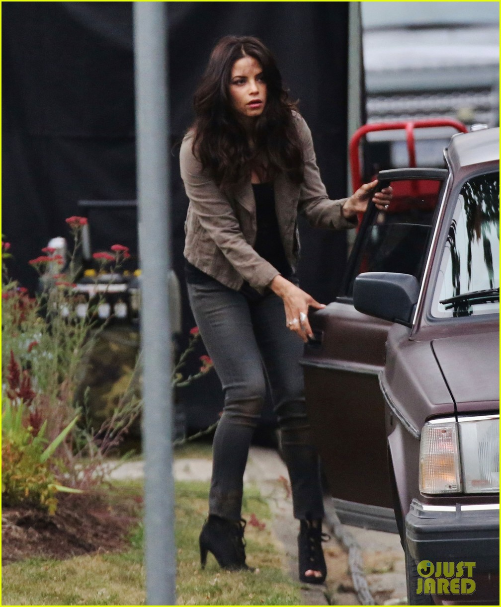 channing tatum films stunts jenna dewan debuts post baby body on set 012911445