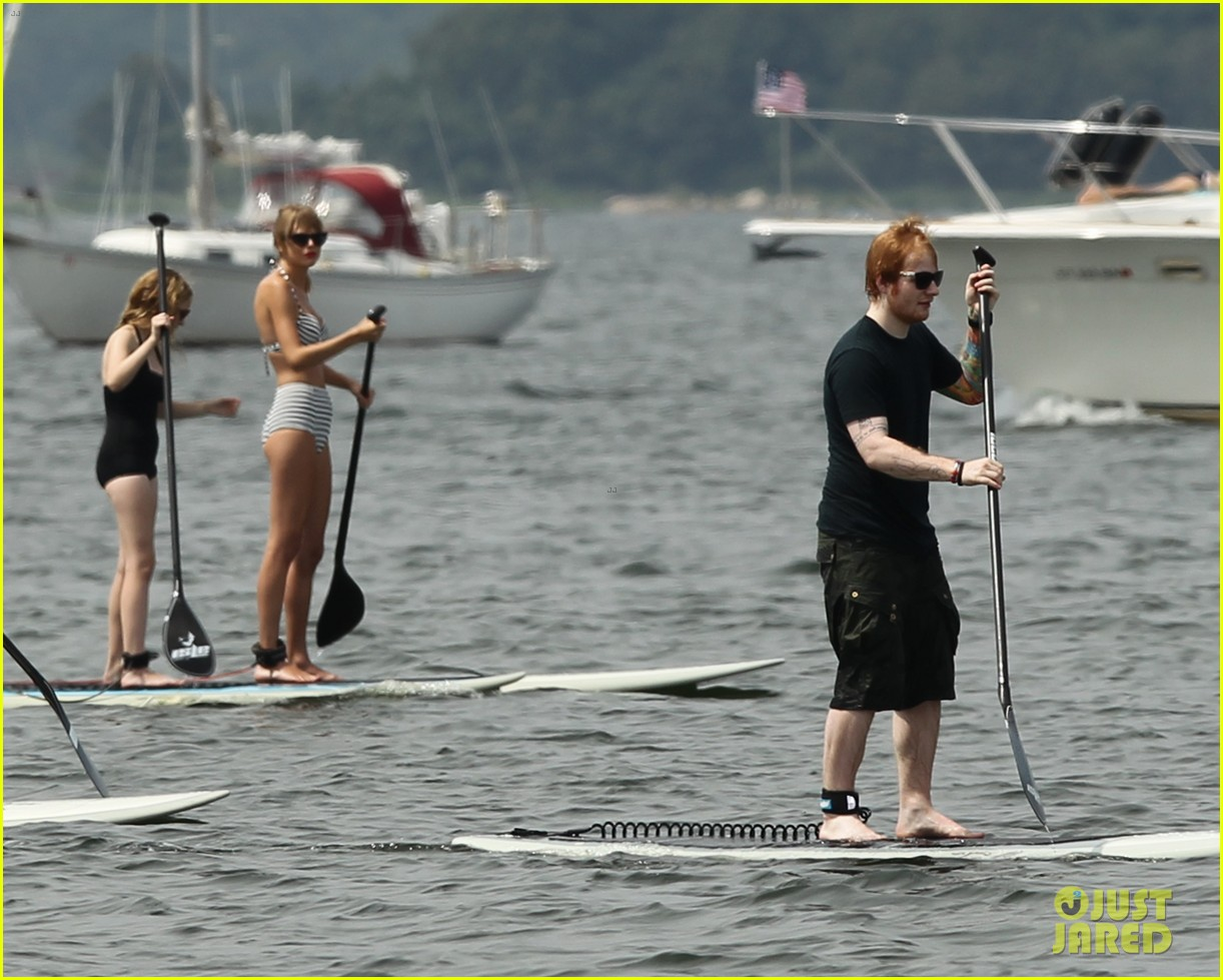 taylor swift bikini paddleboarding with ed sheeran 032918888