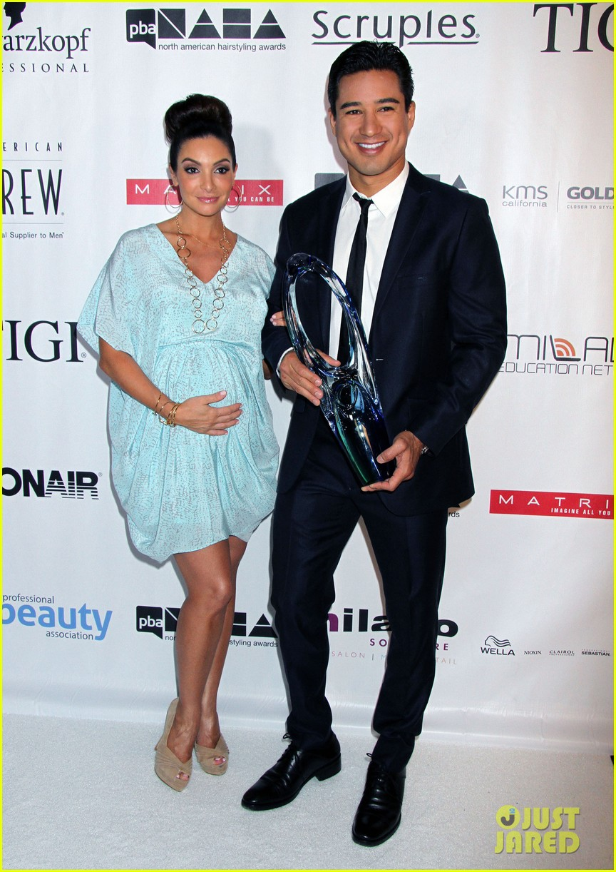 dita von teese mario lopez north american hairstyling awards 092909705