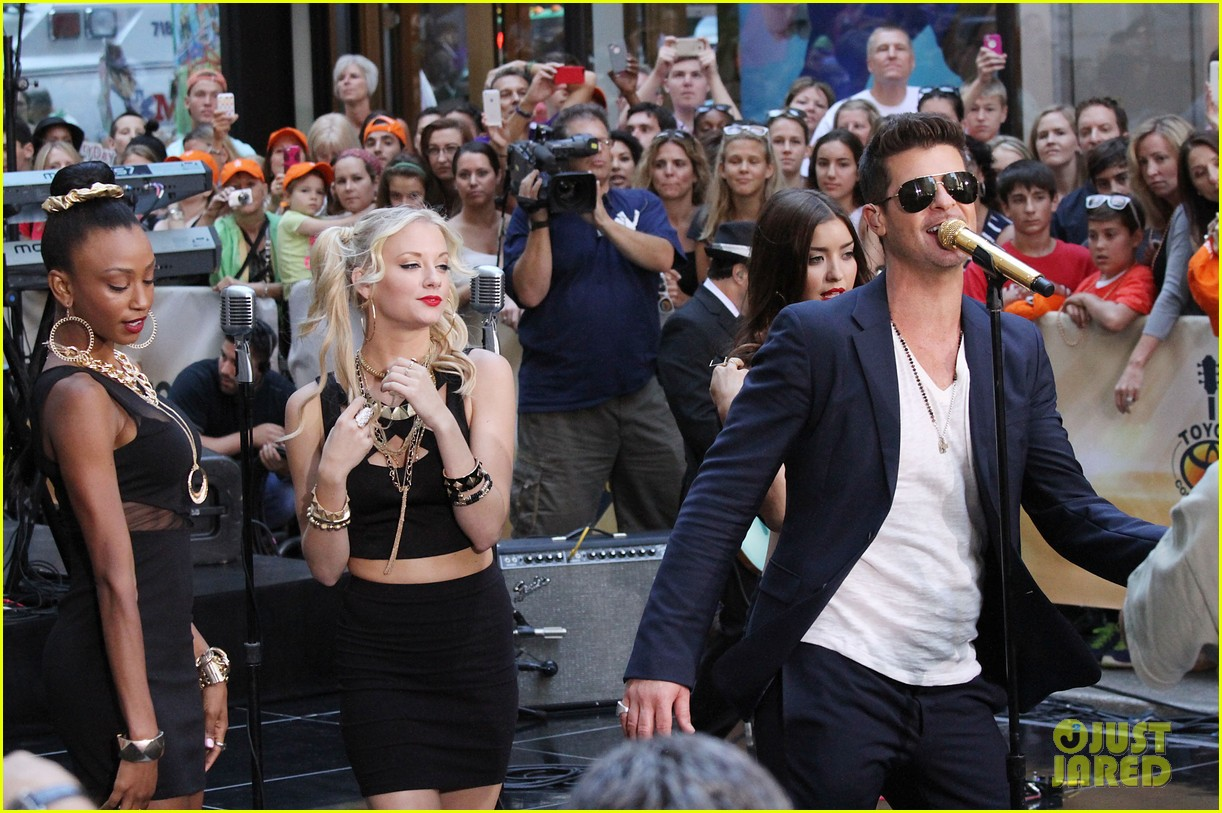 robin thicke today show performances watch now 132920117