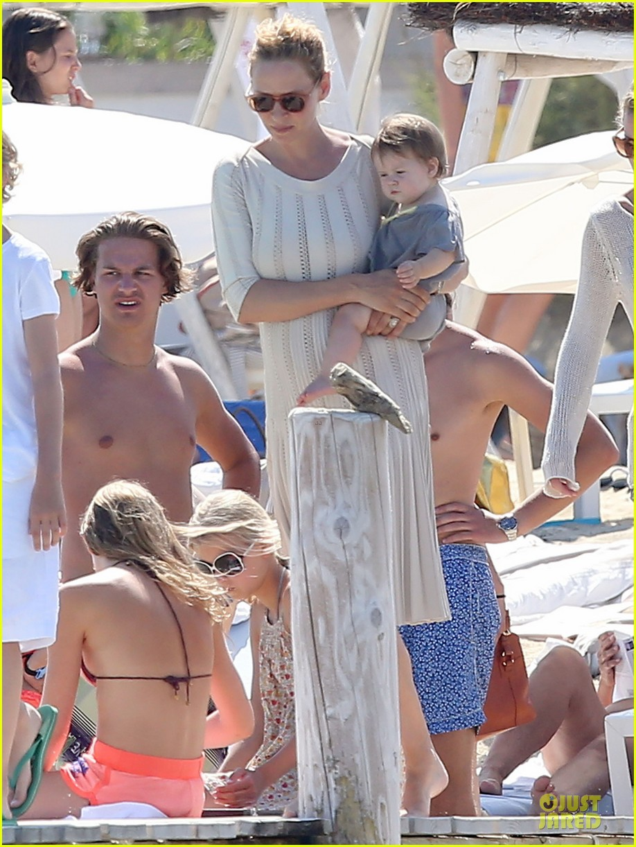 uma thurman bikini babe in saint tropez 012905347
