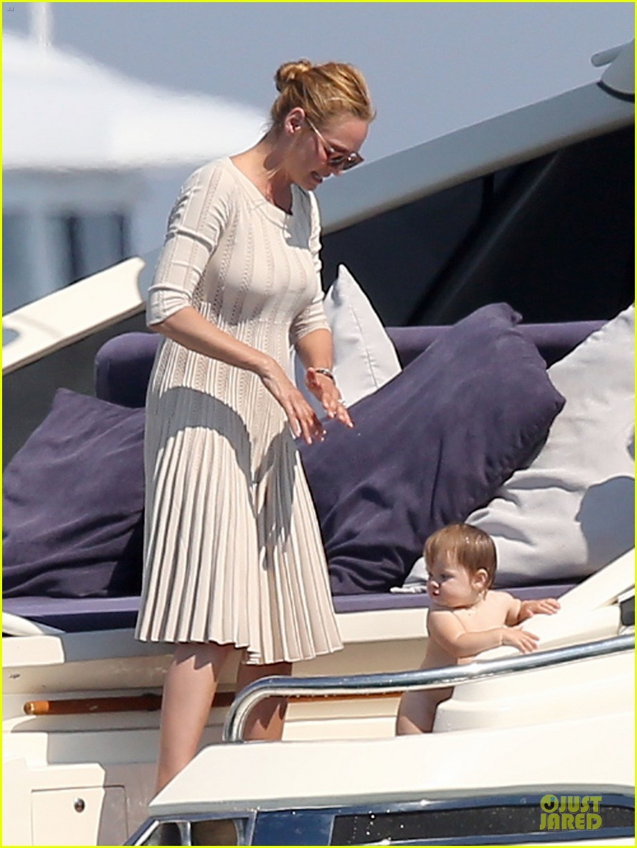 uma thurman bikini babe in saint tropez 112905357