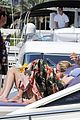 uma thurman bikini music boat ride 09