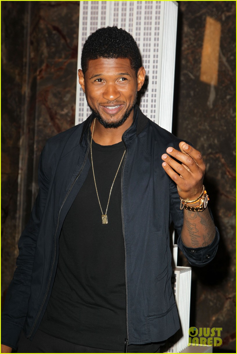 usher lights empire state building before 4th of july fireworks 152903734