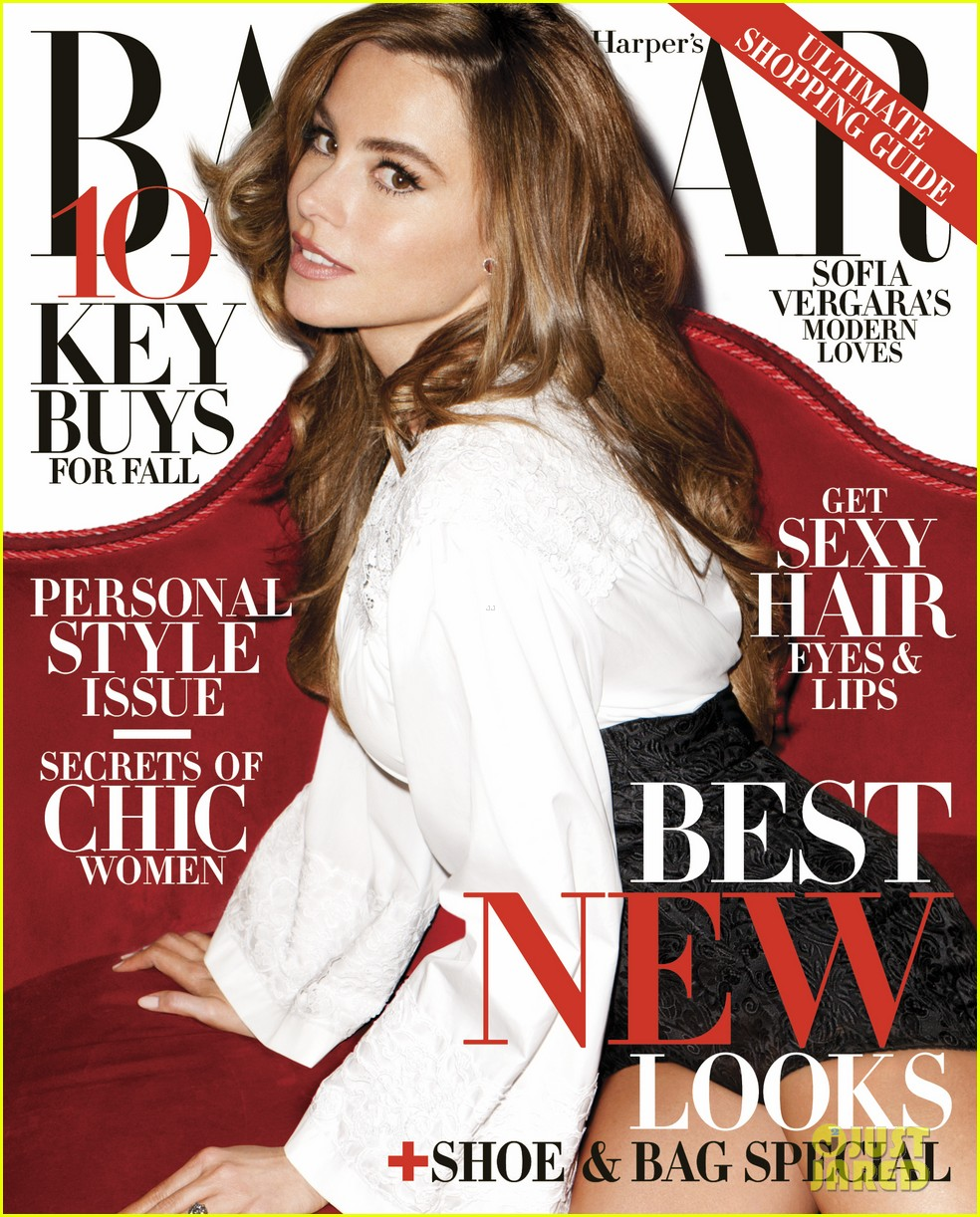 sofia vergara covers harpers bazaar august 2013 012907302