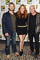 mike vogel rachelle lefevre under the dome at comic con 03