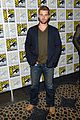 mike vogel rachelle lefevre under the dome at comic con 05