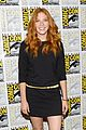 mike vogel rachelle lefevre under the dome at comic con 11