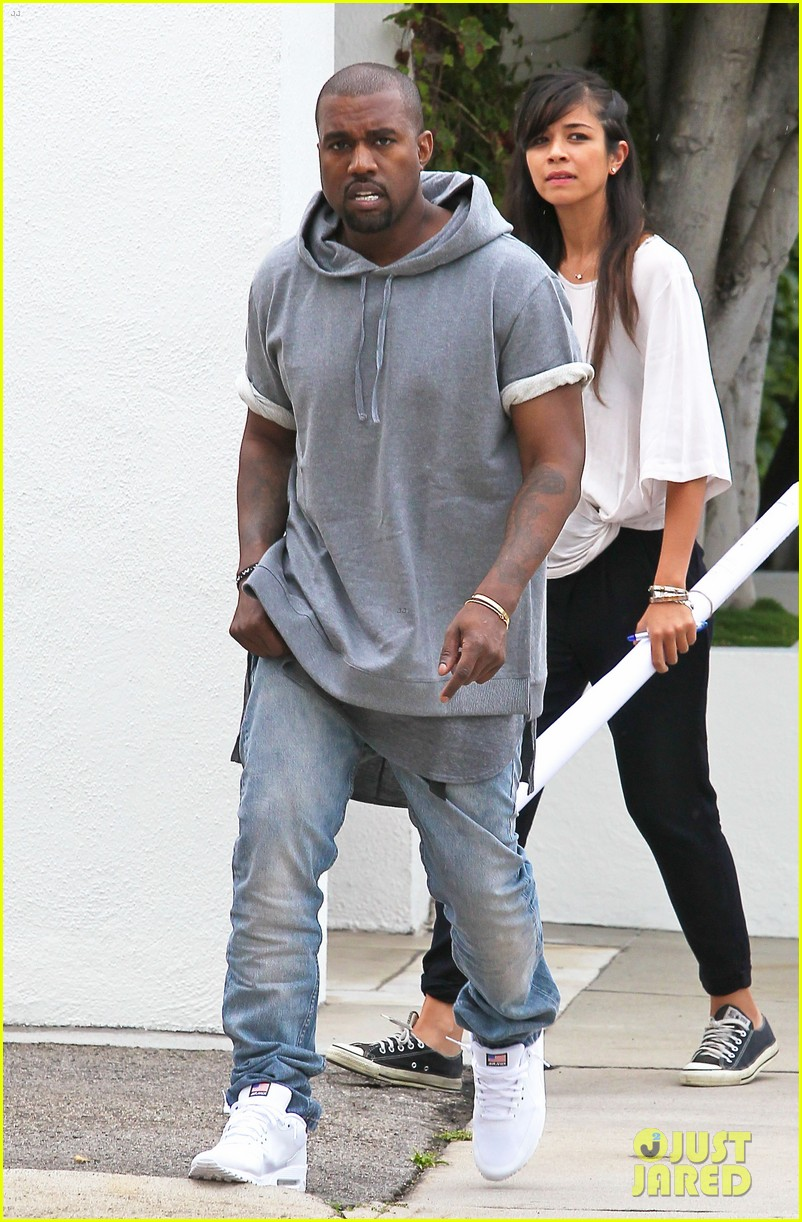 kanye west shops for furniture reportedly naps with north 062908101