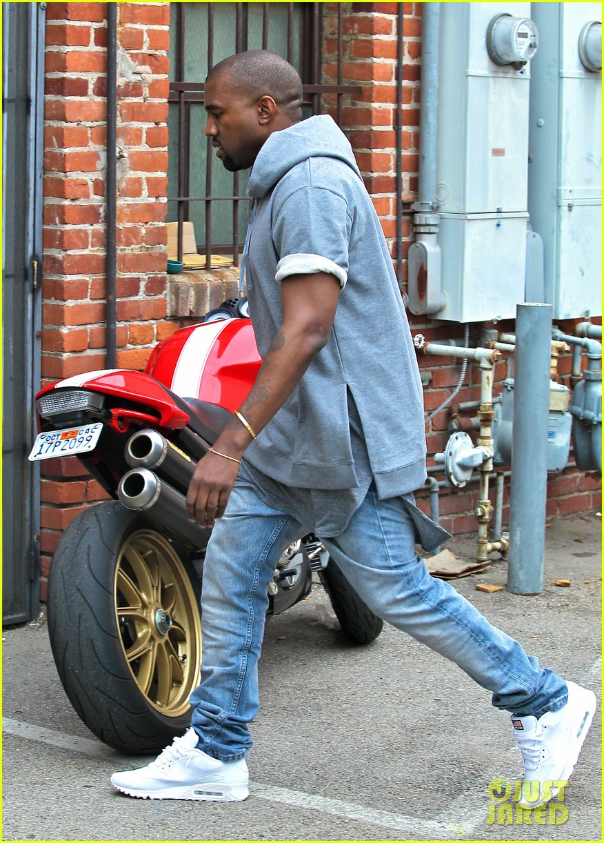 kanye west shops for furniture reportedly naps with north 092908104