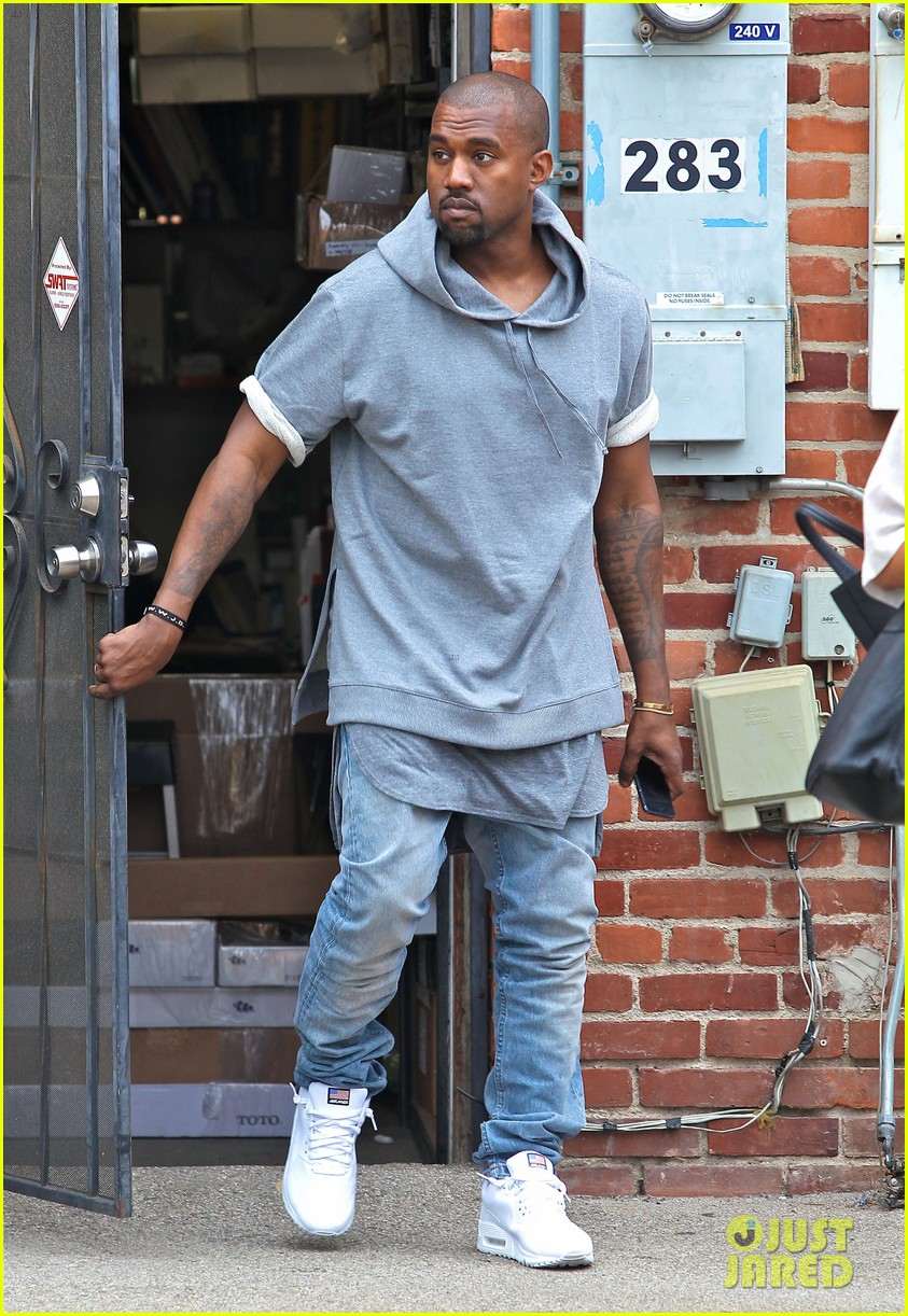 kanye west shops for furniture reportedly naps with north 112908106