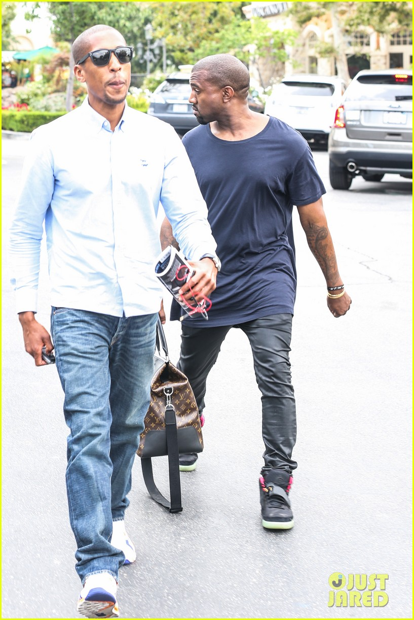 kanye west steps out solo after turning down north photo deal 072903347