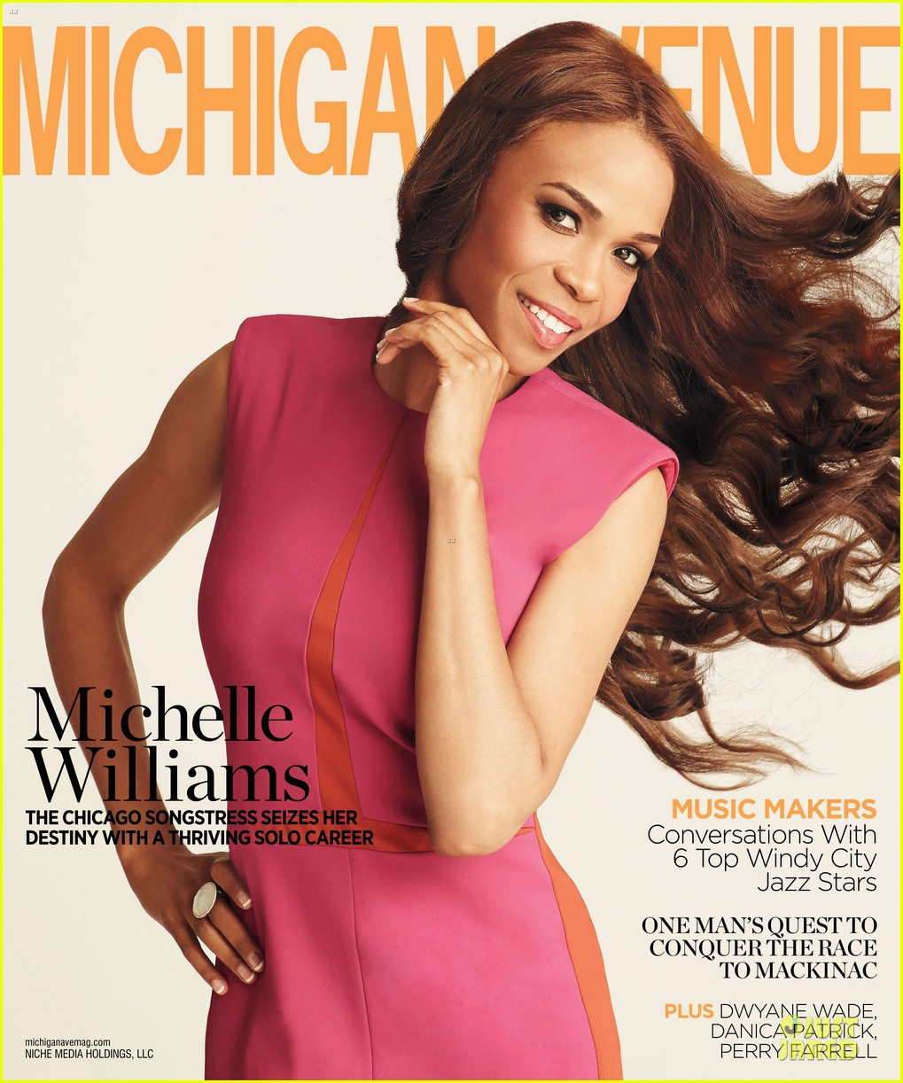 michelle williams covers michigan avenue magazine summer 2013 04