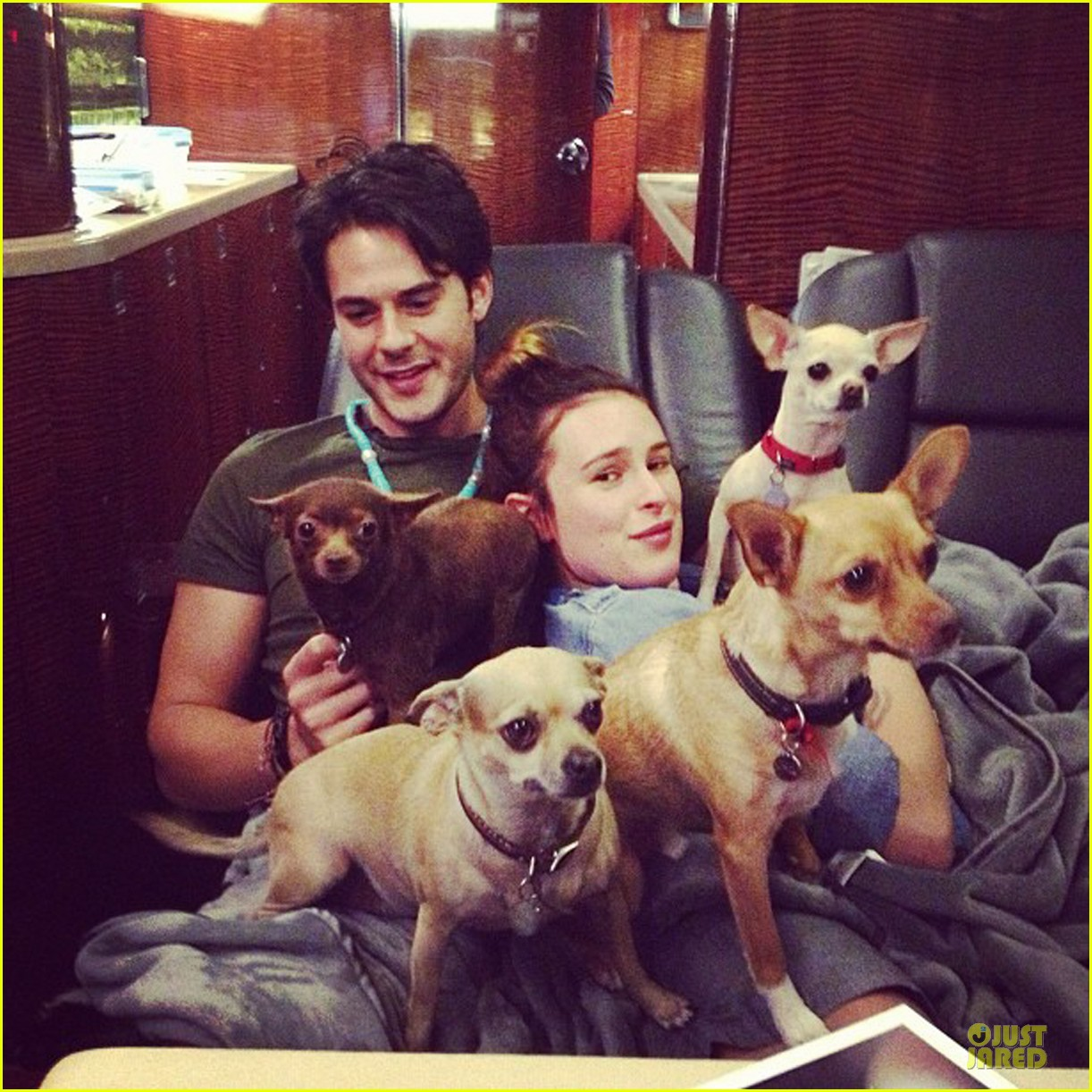 rumer willis jayson blair are filled with doggy love 052908718