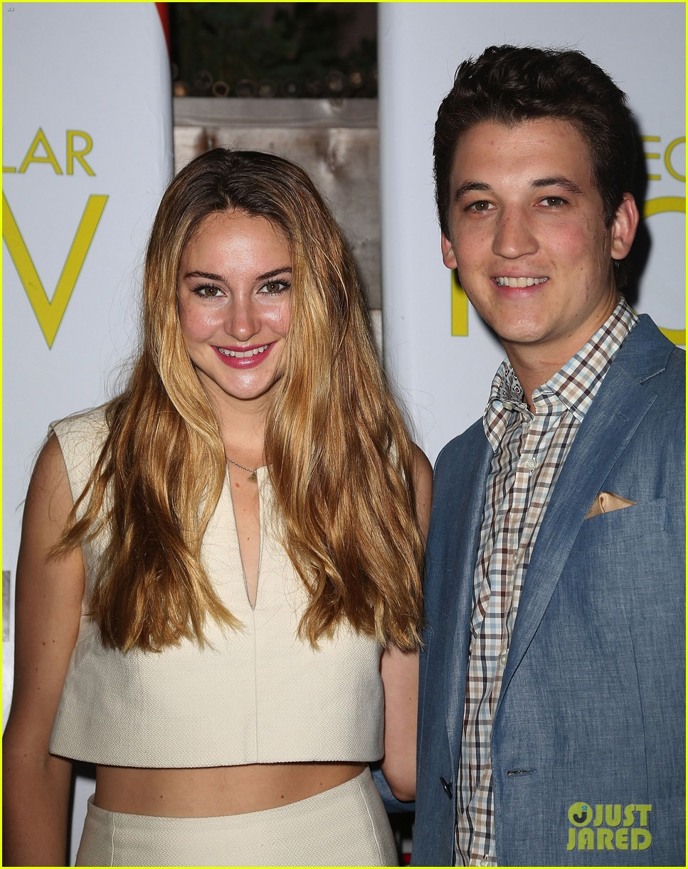 shailene woodley miles teller spectacular now hamptons screening 042917872