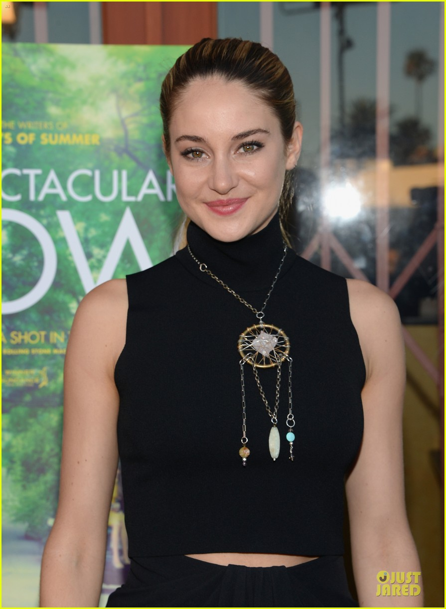 shailene woodley miles teller spectacular now la screening 02