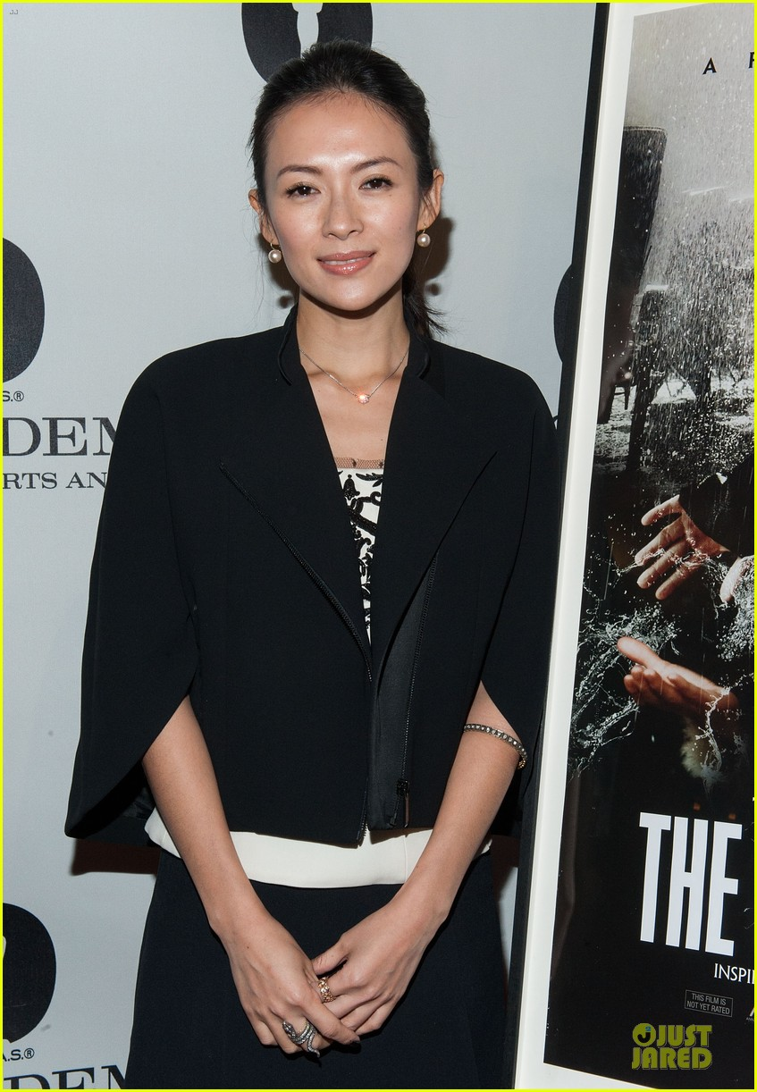 ziyi zhang the grandmaster screening 09