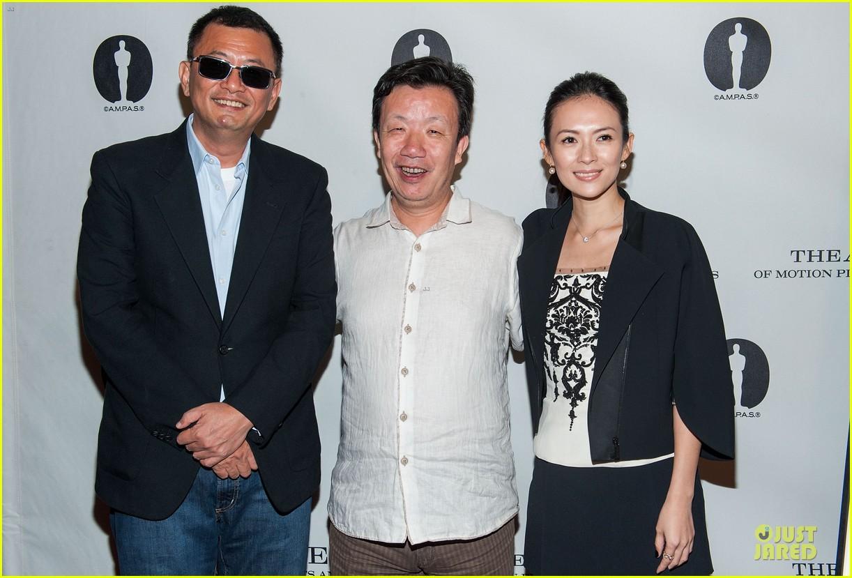 ziyi zhang the grandmaster screening 122914926