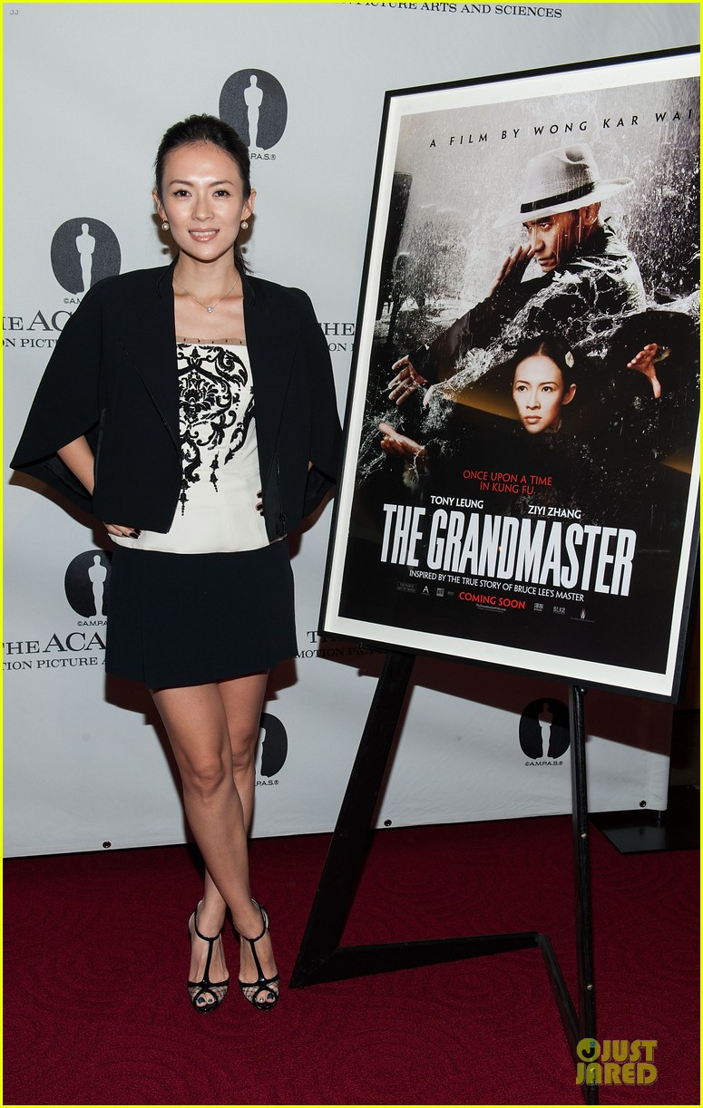 ziyi zhang the grandmaster screening 132914927