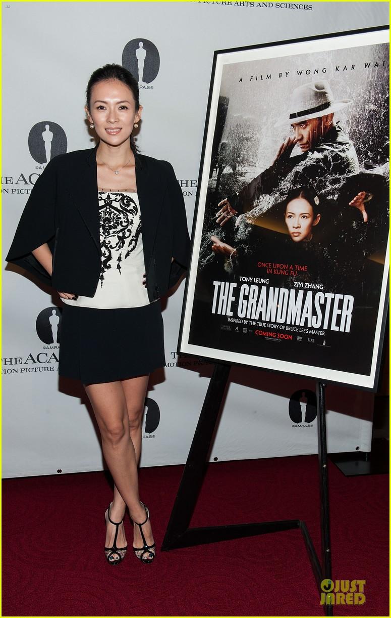 ziyi zhang the grandmaster screening 13