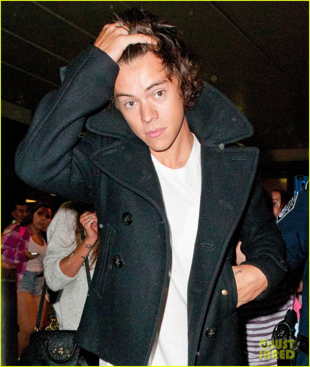 one direction newark airport arrival before today show 042935726