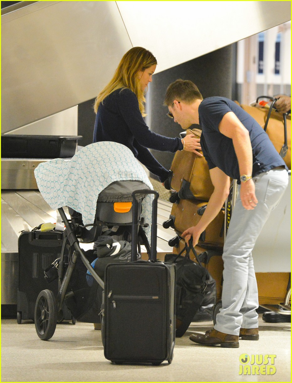 jensen ackles touches down at lax with danneel justice 022932239