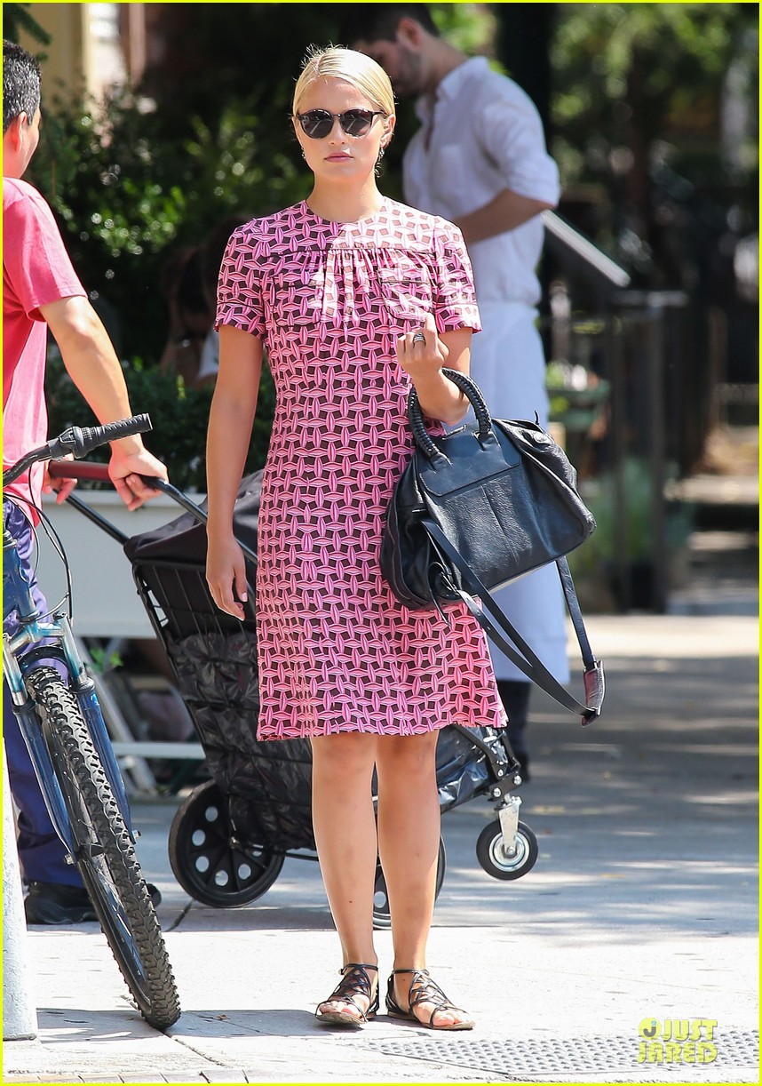 dianna agron repeats cute dress for nyc solo stroll 032939190