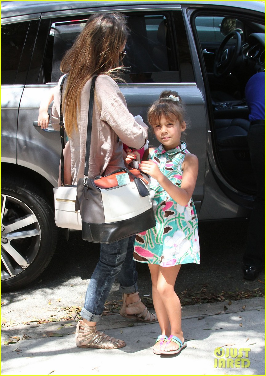 jessica alba honor haven wear matching outfits 332923201