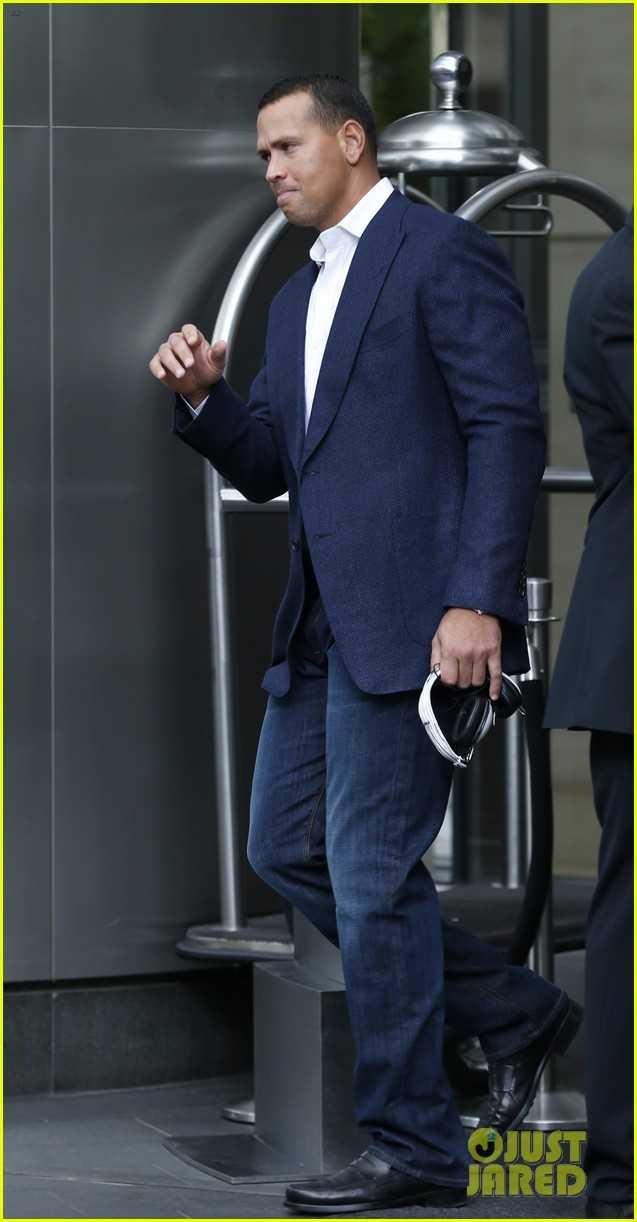 alex rodriguez steps out after record mlb suspension 052924155