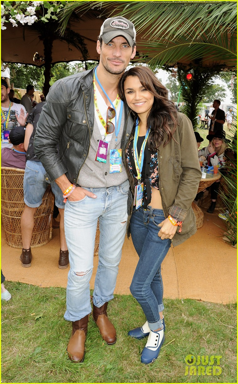 samantha barks david gandy v festival couple 042933322