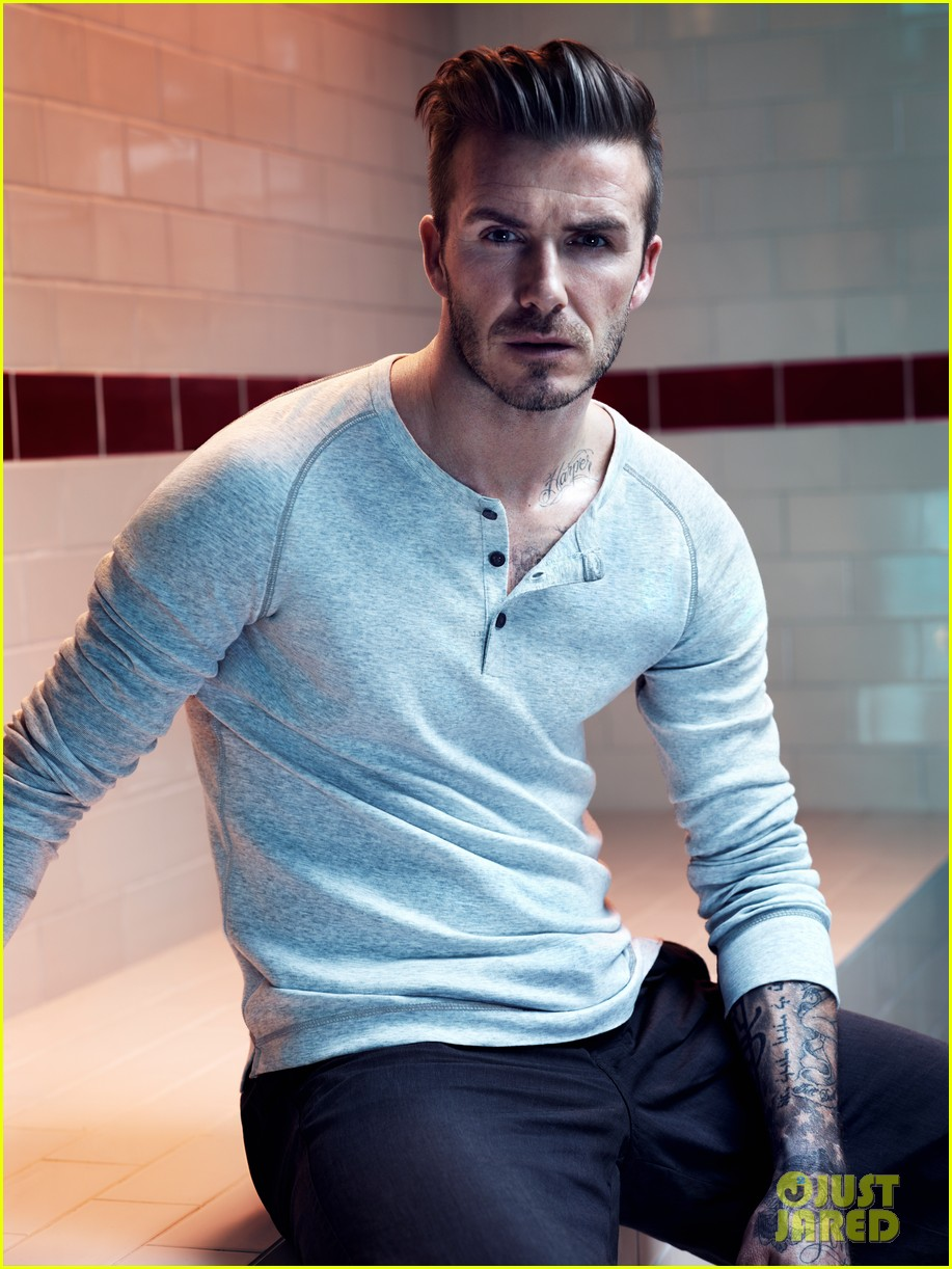 david beckham shirtless hm campaign pictures 022934853