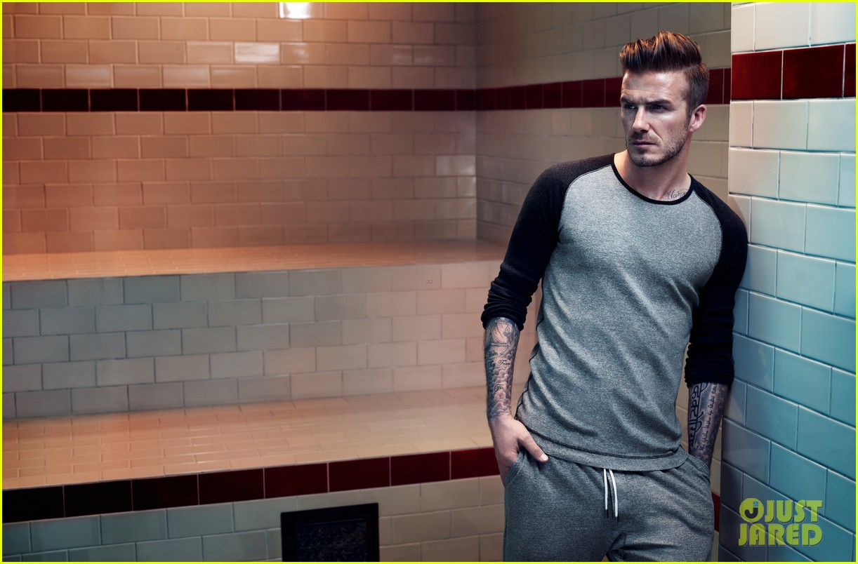 david beckham shirtless hm campaign pictures 06
