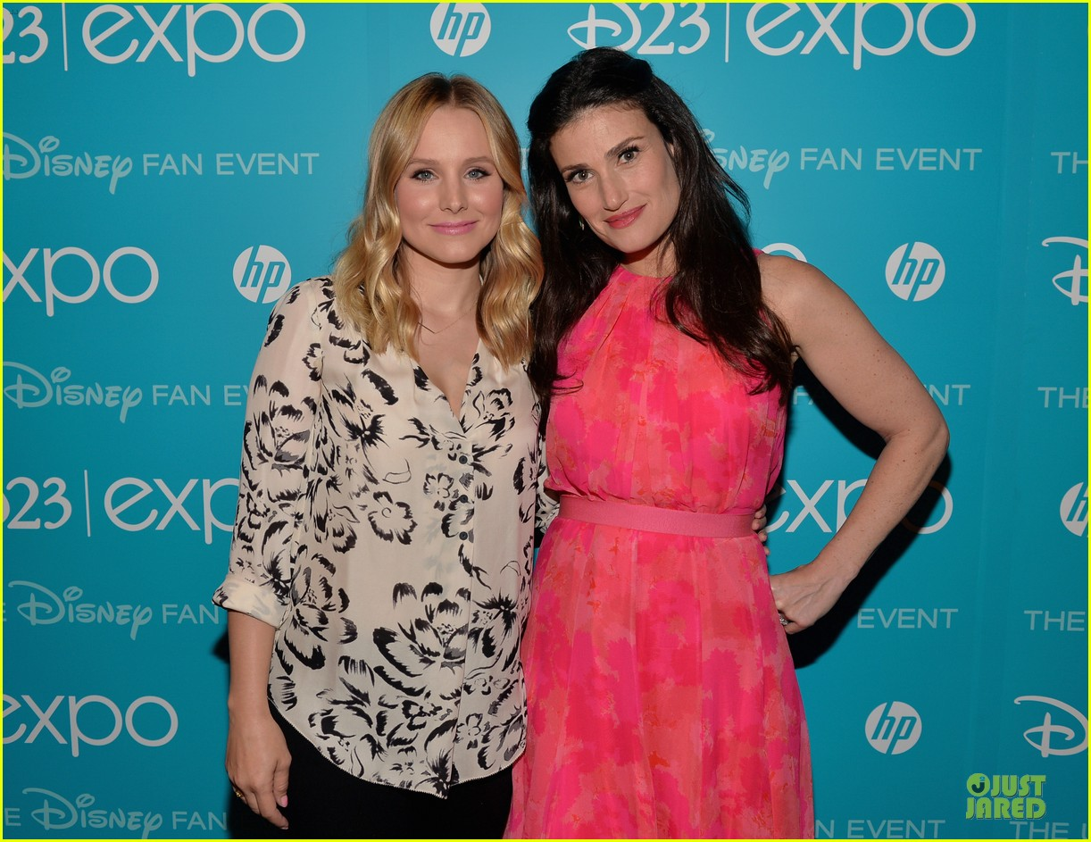 kristen bell idina menzel frozen at disney d23 expo 022926916