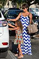 halle berry shows off large baby bump at bristol farms 10