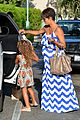 halle berry shows off large baby bump at bristol farms 19