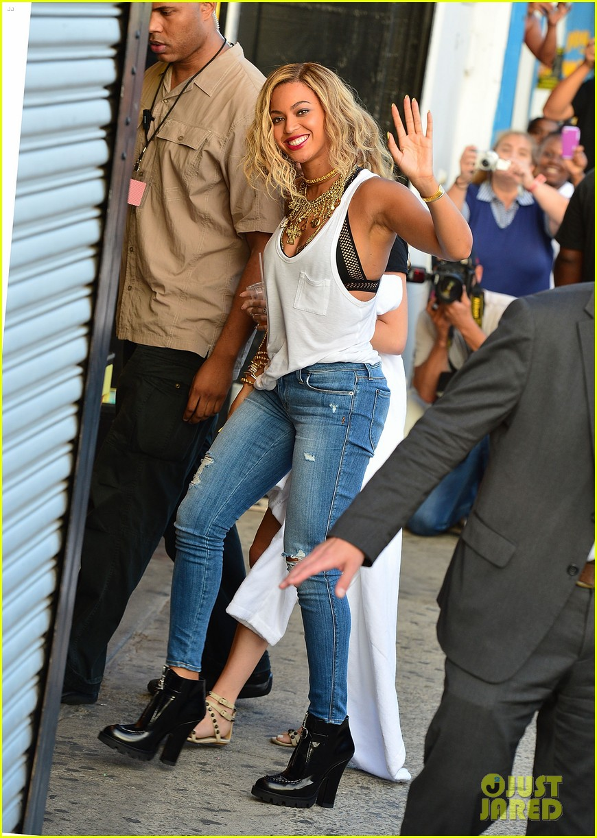 beyonce coney island cyclone rider for music video shoot 032940311
