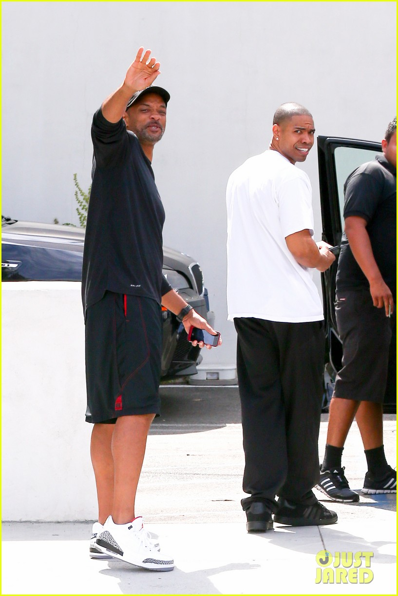 justin bieber hangs with his uncle will smith 102933085