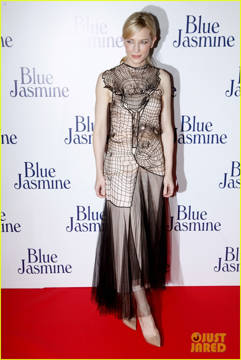 cate blanchett blue jasmine paris premiere with woody allen 012939281