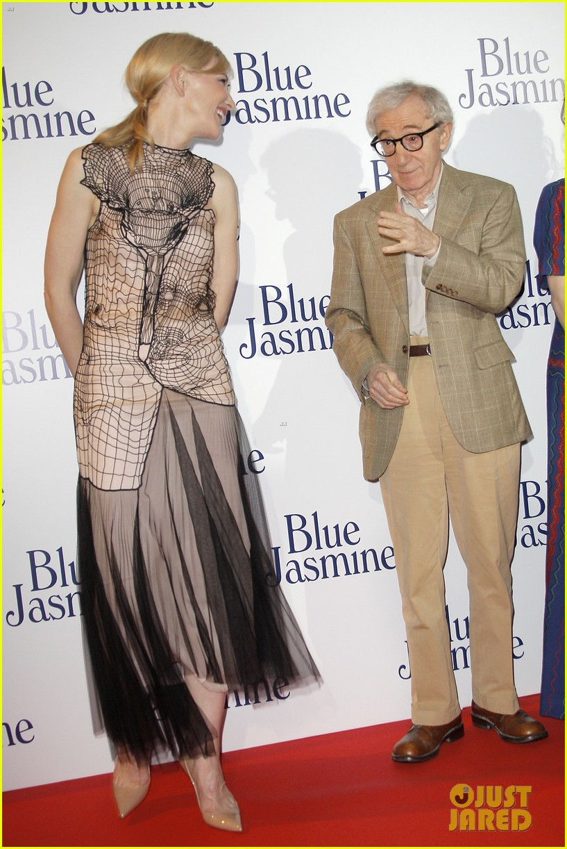 cate blanchett blue jasmine paris premiere with woody allen 022939282